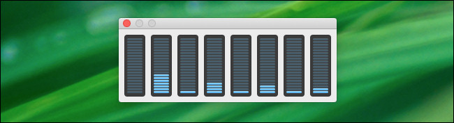 Le panneau flottant d'utilisation du processeur dans Activity Monitor.