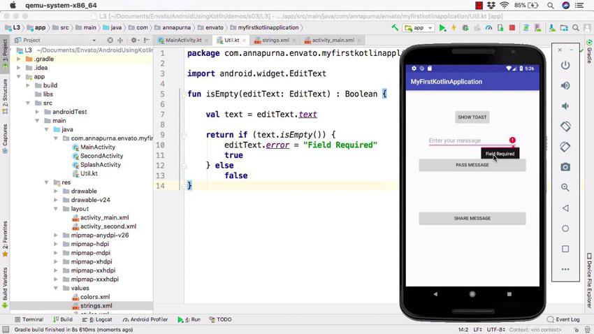 Commencez à coder des applications Android avec Kotlin