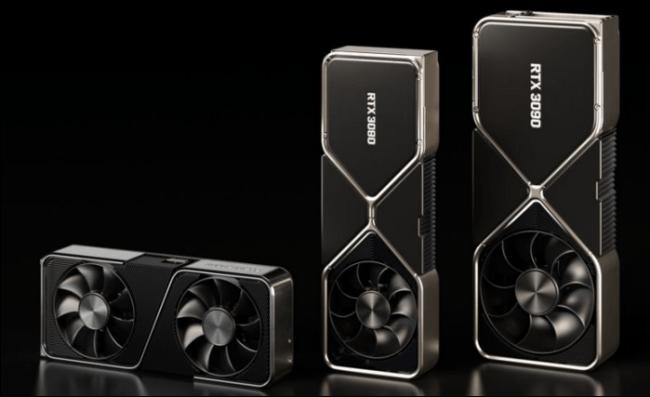 Gamme de GPU RTX 3000