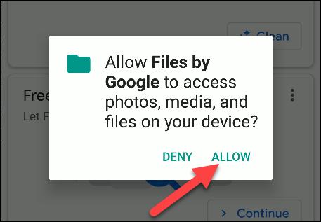 Dateien mit Google-Berechtigungen