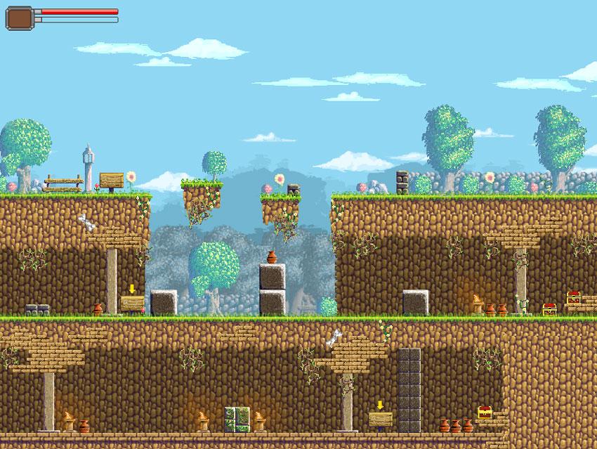 Kit de jeu Pixel Art