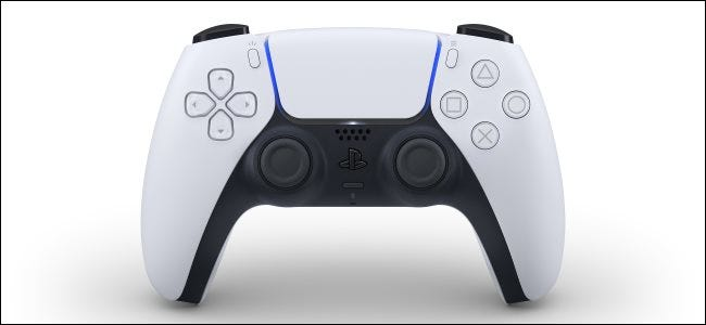 Der neue DualSense Wireless Controller für Sony PlayStation 5.