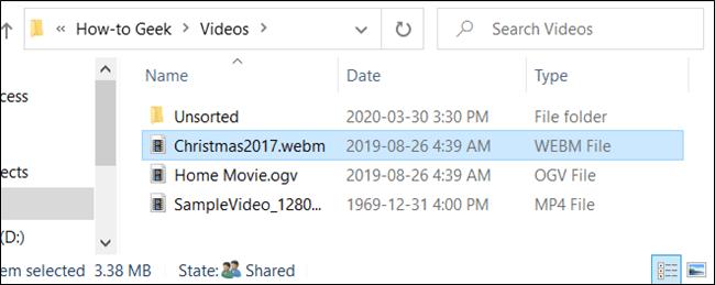 Der Dateiname wurde erfolgreich geändert.