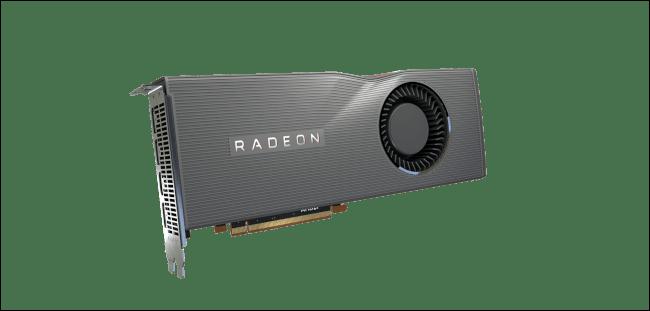 La Radeon RX 5700 XT d'AMD.