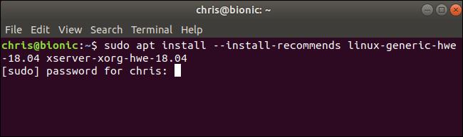 Installazione di Linux 5.0 su Ubuntu 18.04