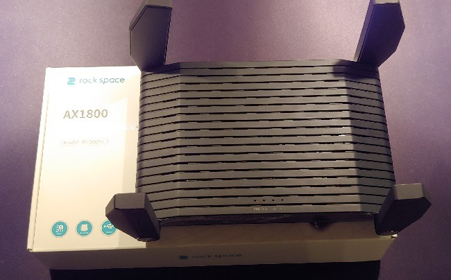 Antennes Rock Space Ax1800 Wi Fi 6 Router Review