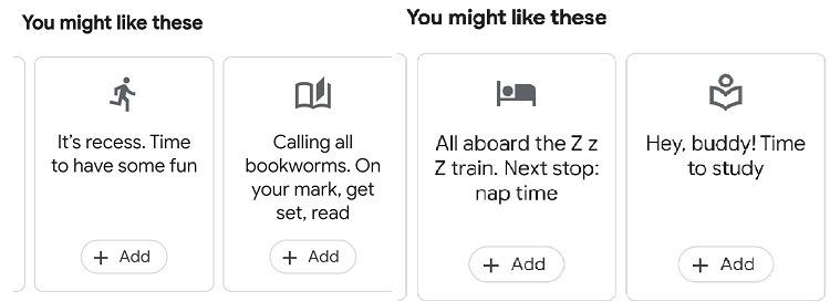 Comment utiliser les options de Bell de la fonction Bell de l'Assistant Google pour la famille