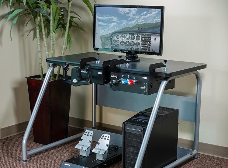 Configurer le matériel du simulateur de vol