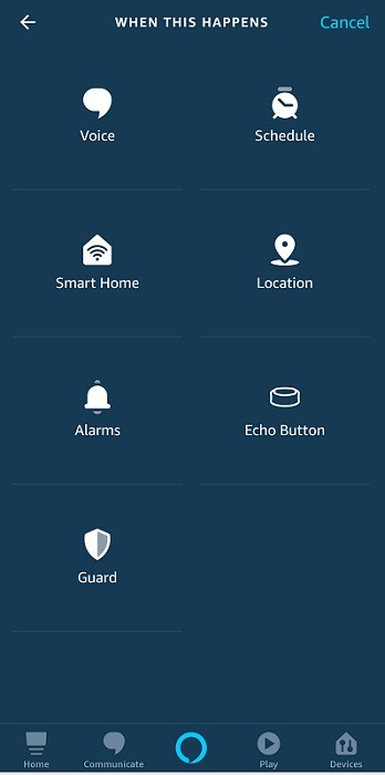 Comment configurer la géolocalisation avec l'emplacement des routines Amazon Alexa