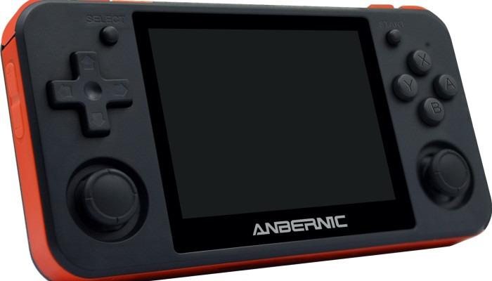 Rétro portable Rg350p