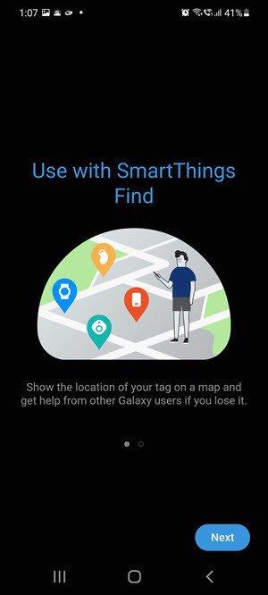 Comment utiliser les balises intelligentes Samsung pour trouver des éléments égarés 9