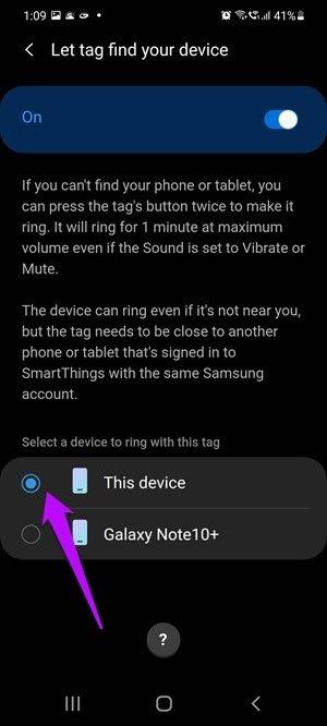 Comment utiliser les balises intelligentes Samsung pour trouver des éléments égarés 12