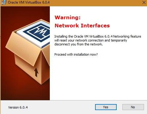 Genymotion Win10 Networkic Virtualbox 1