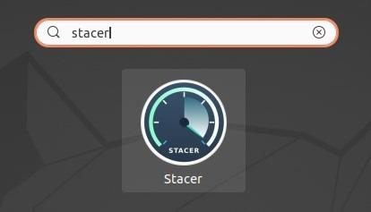 Optimiser Linux avec Stacer Run Program