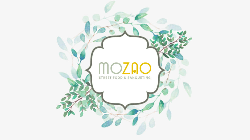 LOgo Mozao Catering Street Food Banqueting