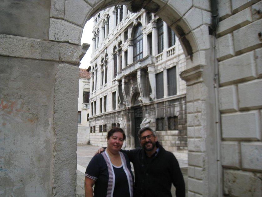 Agostino Taboga,  Anna Trombetta a Venezia