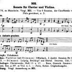 Köchel: Sonata per cembalo con accompagnamento di violino, K 302