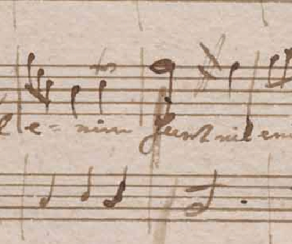 K 143 cancellatura a battuta 94 del manoscritto