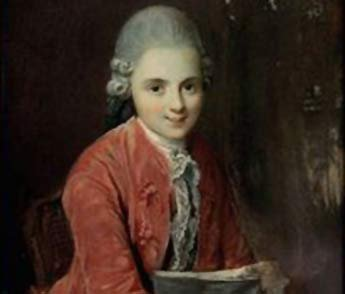 Image result for mozart in painting