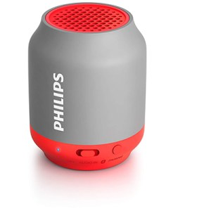 Philips BT50W/00 Portable Wireless Bluetooth Speaker, white