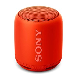 Sony SRS-XB10-RC 10 W Portable Bluetooth Speaker (Orange Red, Mono Channel)
