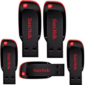 sandisk 128gb pendrive pack of 5