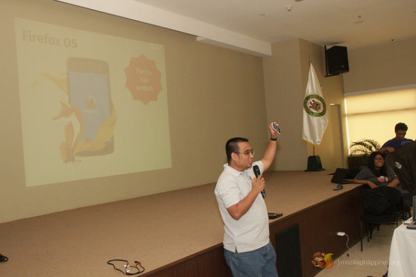Bob talks about the existence of a Firefox OS device in the Philippines