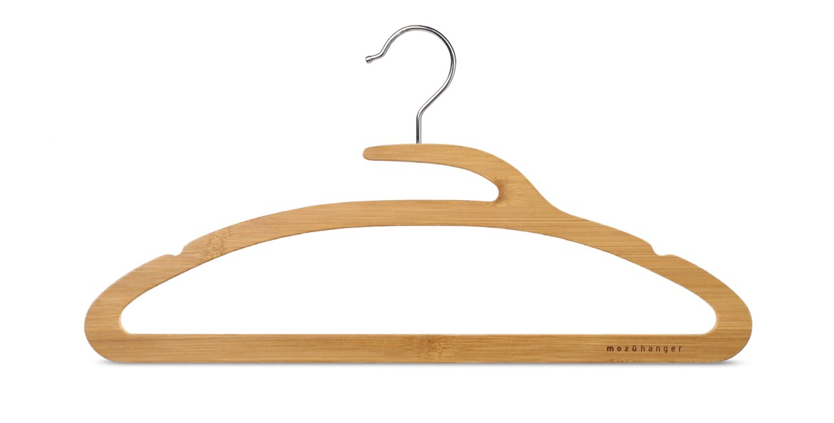 The Mozu Hanger Bamboo Features