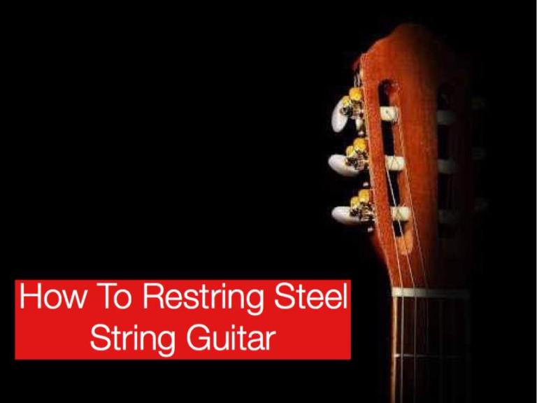 How To Retsring Steel String Guitars