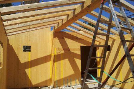 Scarperia Firenze costruzione fienile in legno bbs