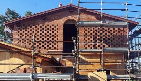 Borgo a Scarperia ristrutturazione in legno bbs