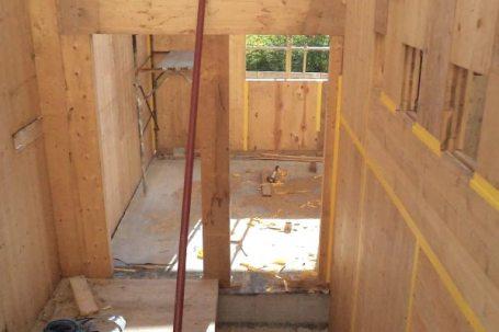 Piozzo, Cuneo pareti interne legno BBS