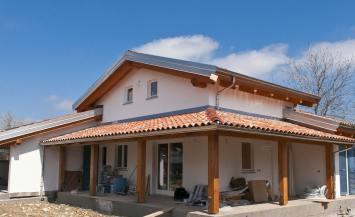 Casa unifamiliare in legno con autorimessa a Beinette, Cuneo