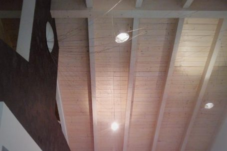 Ristorante in legno prefabbricato Il Cavallo Scosso - interni