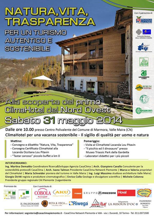 turismo sostenibile: presentazione locanda occitana lou pitavin