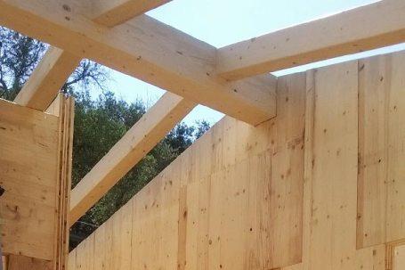 Costuzione casa in legno bbs in Liguria - Cogorno 04