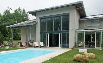 Villa in legno monofamiliare a due piani a Giaveno