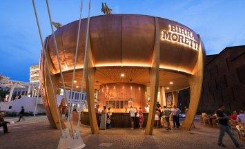 Bottega Moretti padiglione in legno a Expo 2015