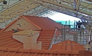 Ampliamento edificio storico ad Alassio