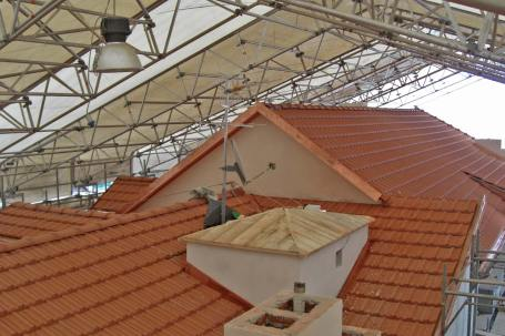 Cantiere ampliamento edificio storico con legno BBS ad Alassio, Savona - Mozzone Building System