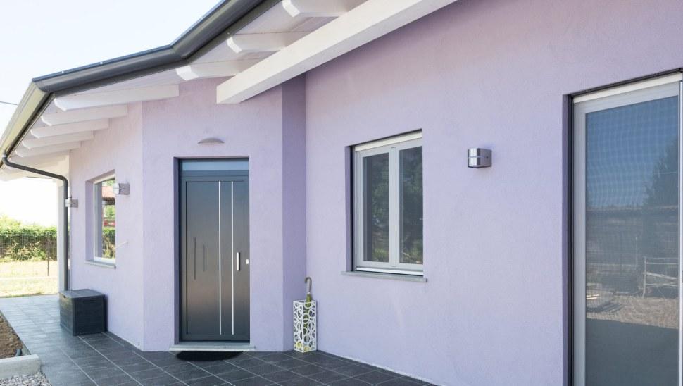 Casa in legno x-lam Cherasco Cuneo localita Picchi - esterno 02
