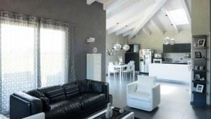 Casa in legno xlam BBS Cherasco Cuneo localita Picchi - interno 02