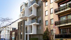 Résidence la Citadelle Jambes Belgio progetto 01 Mozzone Building System