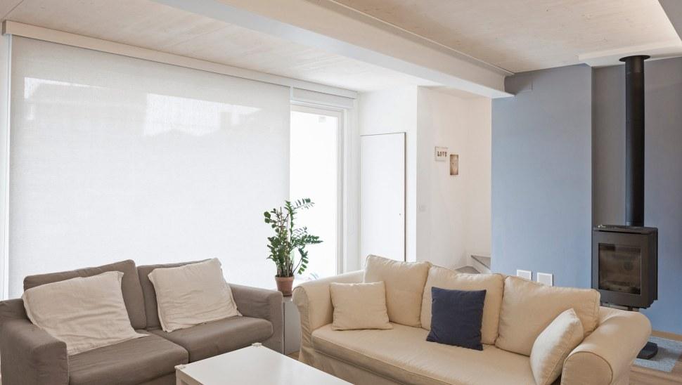 Ristrutturazione casa legno xlam Casaclima A - 05 - interno - sala 03 - Mozzone Building System