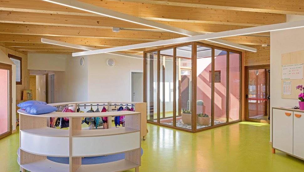 Scuola antisismica costruzione legno xlam Siena Toscana 02 - Mozzone Building System