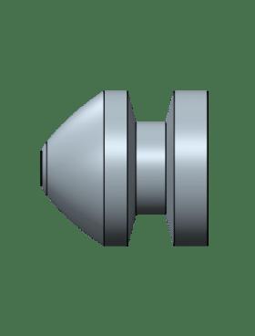 MP 44 Collar button, 4 cavity Aluminum mold