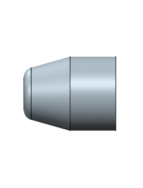 MP 358-100 Hollow point PB 4 cavity mold (No lube groove)