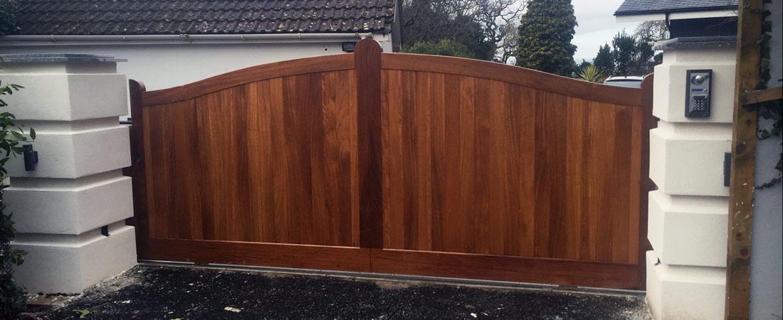 External Wall Insulation Gate Posts - Somerset