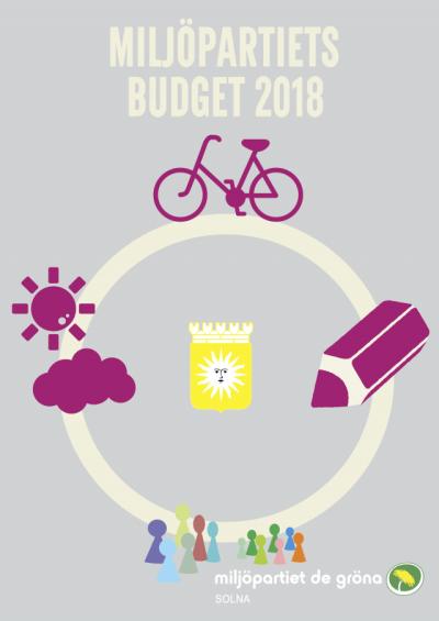 Miljöpartiet i Solna - Budget 2018