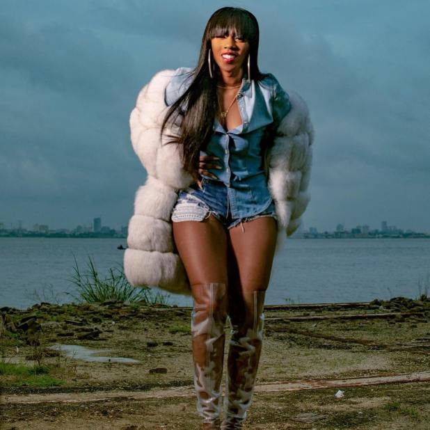 Image result for tiwa savage exposing body parts in fever video